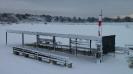 Il gazebo con la neve