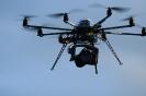 multicopter in volo